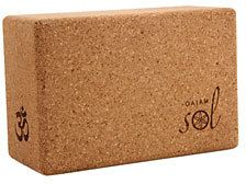 $16.95 - Gaiam Sol Natural Cork Yoga Block 45967 - EVERYSTORE