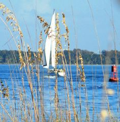 Sailboat as St. Andrew state park
