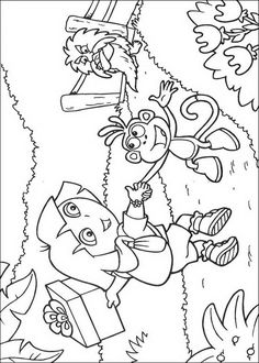 dora the explorer diego coloring pages coloring pages | Pirate ... | 330x236