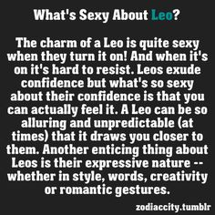 How to seduce a leo man sexually