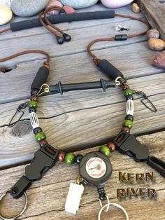 """The """"KERN RIVER"""" Fly Fishing Lanyard by Golden Trout Lanyards by GoldenTroutLanyards on Etsy"""