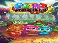 Paint Monsters  Android Game - playslack.com , Connect colourful monsters of the same color with a solo formation. They'll disappear and you'll get scores. assist humorous monsters overpower the bad liquid majesty and his workers in this Android game. voyage the supernatural empire and return shinny colours to the land caught  by delinquents. Explode your foes. To do this you need to connect as much monsters as you can with one formation. Make combos, get a collection of bonuses and…
