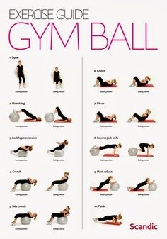 Exercise Guide : Gym ball exercises for women | | Useful Information