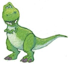 A quick rex from toy-story, for fun ! I'm a predator Disney Doodles, Disney Drawings, Cartoon Drawings, Cute Drawings, Dinosaur Drawing, Dinosaur Art, Toy Story Dinosaur, Disney Kunst, Disney Art