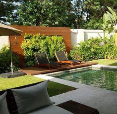 Wooden Terrace, Wooden Decks, Patio Deck Designs, Pool Designs, Pallet Pool, Jacuzzi Outdoor, Luxury Pools, Deck Decorating, Swimming Pools Backyard