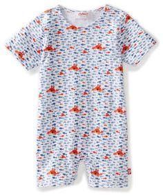 Zutano Unisex-baby Infant Crabby Bodysuit
