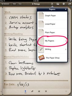 """n last week's post, I discussed how I use Penultimate as a commonplace book that replaces the pocket notebook I used to carry around. At the end of that post, I promised that this week, I'd describe how I use Penultimate to help plan out my day. Over the years I've tried lots of methodologies … Continue reading Going Paperless: Getting """"9 Things"""" Done With Penultimate and Evernote →"""