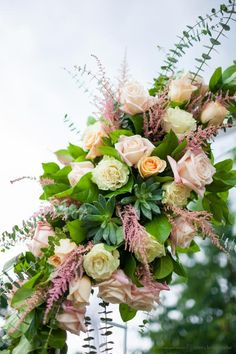 roses astilbe arch - Google Search