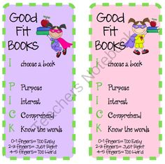 Daily 5 Bookmarks from Brigids Daily Lesson Log on TeachersNotebook.com (2 pages)