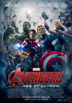 #AvengersAgeofUltron comes with the Official Poster!  Read more at: http://moviejunkienews.com/posts/fantasy/avengers-age-of-ultron-comes-with-the-official-poster