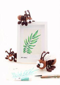Ants crochet pattern by mala designs ®