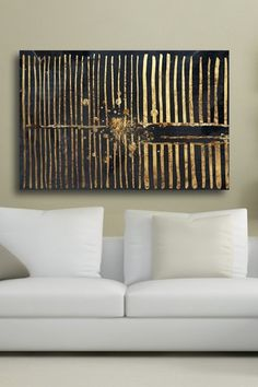 Oliver Gal Love Force Field Night Canvas Art by Oliver Gal Gallery on @HauteLook