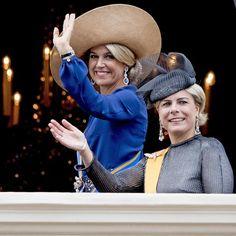 Queen Maxima and Princess Laurentien at the Prinsjesdag 2016