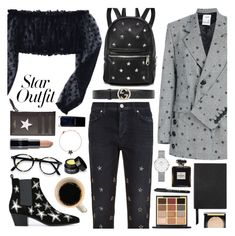 """""""Twinkle, Twinkle: Star Outfits🌟 8-2-2018"""" by anamarija00 ❤ liked on Polyvore featuring Seen, Hudson, Givenchy, Sunset + Spring, Yves Saint Laurent, Smythson, Lancôme, Henné Organics, Chanel and Daniel Wellington"""