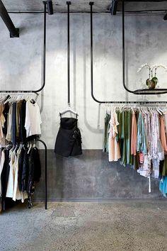 La Maison Jolie: Design Envy: A Design Forward Fashion Boutique! Fashion Shop Interior, Clothing Boutique Interior, Fashion Store Design, Boutique Interior Design, Boutique Decor, Interior Design Studio, A Boutique, Fashion Boutique, Vintage Boutique