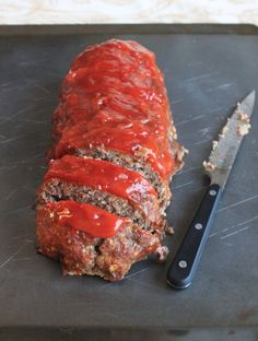 Classic Meatloaf. Made this tonight for dinner. The best recipe I have for meatloaf.
