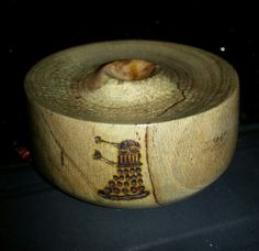 Dalek bowl 2. Rhododendron wood. Lotbd 2014