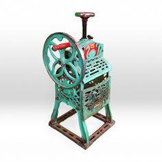 antique shave machine