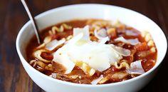 Slow Cooker Lasagna Soup | Quick Dish Recipes