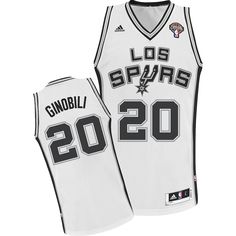 86ff499b2 Spice up your NBA Jersey collection with this San Antonio Spurs Manu  Ginobili Latin Nights Swingman