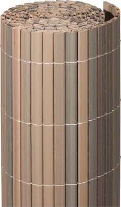 PVC Sichtschutzmatte grau garten balkon sichtschutz