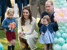 The 7 Insanely Cutest Moments from George and Charlotte's First Public Playdate  The British Royals, The Royals, Kate Middleton, Prince George, Prince William, Princess Charlotte