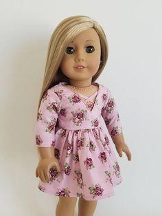 Criss Cross Dress for American Girl Dolls