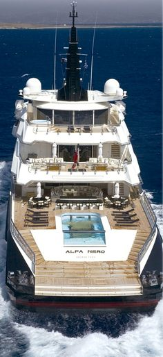 Yacht ALFA NERO - Luxury Yacht Charter. TAP THREE TIMES to reserve today.