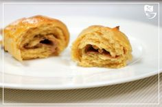 Low Carb Schoko-Croissants - Powered by @ultimaterecipe