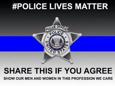 PLEASE America, if you cross paths with an officer, tell them THANK YOU for your service and for protecting us- offer to buy them lunch or something to drink and let them know that they MATTER to you Support Law Enforcement, Law Enforcement Officer, Police Love, Support Police, Police Quotes, Police Humor, Cop Quotes, Funny Police, Selfie Quotes