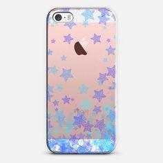 Purple, Blue & Aqua Stars - New Standard Case