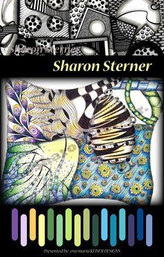 Eva Maria Keiser Designs: Colorway: Sharon Sterner