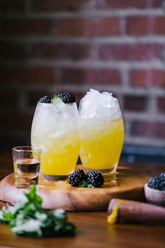 An easy to make yet incredibly delicious mango and blackberry vodka cooler cocktail recipe.