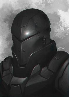 Future Knight Bust by leonwoon.deviantart.com on @deviantART