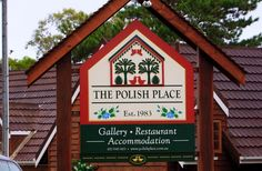 The Polish Place Restaurant Sign / Danthonia Designs