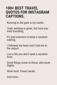 Looking for the original travel quotes? Look no further. Life is too short for the boring and everyone-knows travel sayings. The freshest, original and out-of-ordinary travel quotes with attitude. Get inspired. Get motivated. Funny Travel Quotes, Solo Travel Quotes, Vacation Quotes, Travel Words, Travel Humor, Funny Adventure Quotes, Adventure Captions, Funny Quotes, Instagram Captions Travel