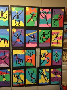 Almost springtime means BUGS! A quick lesson on positive negative shapes for grade Middle School Art, Art School, 5th Grade Art, Collaborative Art, Art Lessons Elementary, Art Programs, Art Lesson Plans, Art Classroom, Art Club