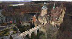 Замок Чоха (Czocha Castle), Нижнесилезское воеводство, Польша