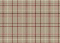 Keynes Cranberry Check Linen Mix Upholstery Fabric from Laura Ashley