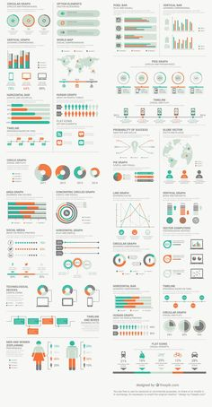Free Infographic Elements Pack From FreepikYou can find Chart design infographic and more on our website.Free Infographic Elements Pack From Freepik Graphisches Design, Chart Design, Layout Design, Design Ideas, Diagram Design, Interior Design, Modern Interior, Design Trends, Logo Design