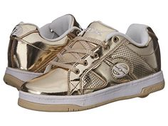 Heelys Split Chrome with attachable wheels in SILVER and GOLD