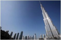 Giant in the Sky - The Burj Khalifa, Dubai #houseplans