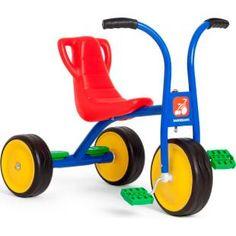 Triciclo Bandeirante Escolar, ideal para uso coletivo em áreas de recreação em escolas, clubes, condomínios, etc.