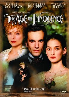 'The Age of Innocence', Winona Ryder, Michelle Pfeiffer.