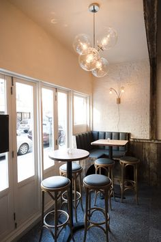 Focusing on bar and restaurant design, interior design, and furniture and lighting. Bar Areas, Restaurant Design, Interior Design, Table, Furniture, Home Decor, Design Interiors, Tables, Home Furnishings