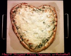 Valentine's Day tradition- Making heart shaped food! Meatloaf, pizza, pancakes...