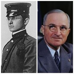 Harry Truman-Army-1905-11,1917-19,1920-53, Major, Colonel-Reserve, WW1-Western Front (33rd US President)