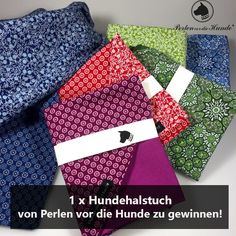 1. Dezember – Gewinne ein Hunde-Halstuch von Perlen vor die Hunde!