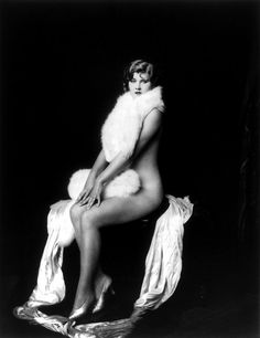 """Frieda Mierse, Ziegfeld girl, by Alfred Cheney Johnston, ca. 1932."" @Rebecca Feldman look familiar?"