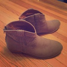Ankle Booties Tan faux suede ankle boots. massimo brand size 7 1/2. massimo Shoes Ankle Boots & Booties
